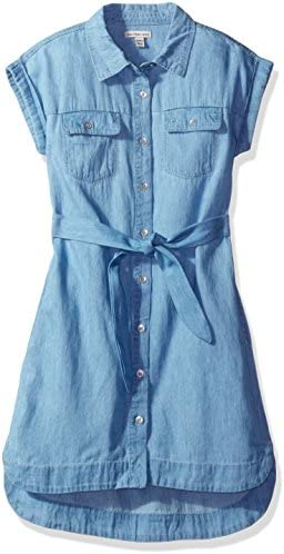 Calvin Klein Girls Chambray Shirtdress product image