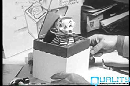 Vintage Making Of The Jack In The Box Toy Video DVD 1950s Mattel Toy Company & Amazon.com: Vintage Making Of The Jack In The Box Toy Video DVD ... Aboutintivar.Com