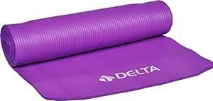 Delta Unisex Pilates Minderi & Yoga Mat Ds 7710 Mat, Lila, Tek Beden