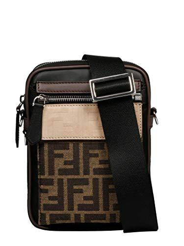 Fendi Luxury Fashion Herren 7VA488A7UWF19A5 Braun Polyamid Kuriertasche | Frühling Sommer 20
