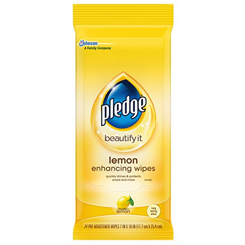 Pledge Lemon Wipes 24 ct.