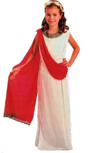 Greek And Roman Costumes Uk (Roman Greek Goddess Childs Fancy Dress Costume M 134cms)
