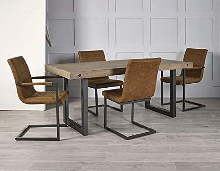 One Home Furniture Hoxton - Juego de Comedor de Madera ...