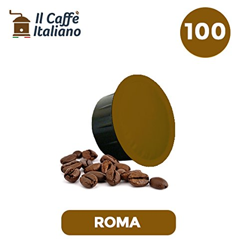 100 capsule compatibili Caffitaly - 100 capsule caffè Roma ...