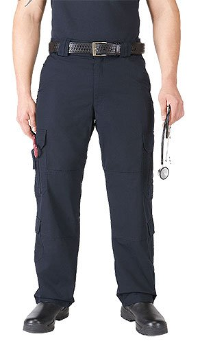 Emt Navy Pants - 5.11 Taclite Men's EMS Pant, 32W x 34L, Black