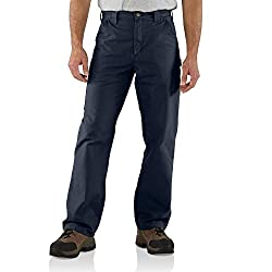 Carhartt Men's Canvas Work Dungaree Pant - 44w X 34l - Navy