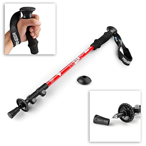 Flexzion Trekking Pole Walking Stick