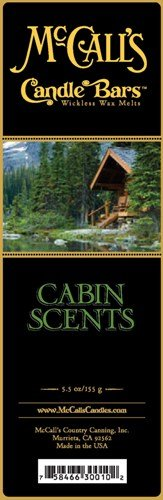 Cabin Scents - McCall's Country Candles Candle Bar 5.5 oz. - Cabin Scents