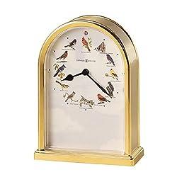 Howard Miller 645-405 Songbirds of North America III Table Clock