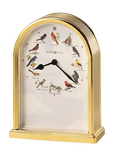 Clock Bluebird (Howard Miller 645-405 Songbirds of North America III Table Clock)