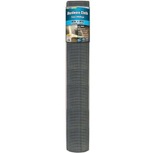 Midwest Air Technologies Mat 308239A Air Tech 48-Inch-by-50-Foot 1/4-by-1/4-Inch Mesh 23-Gauge Hardware Cloth