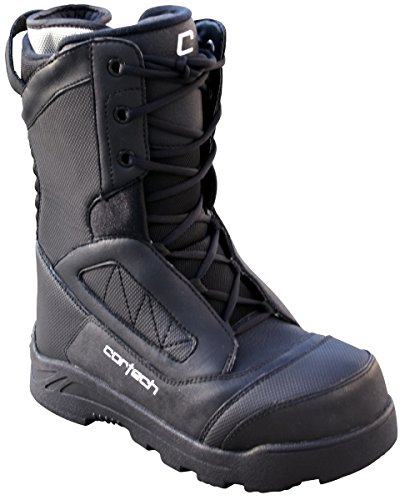 Cortech Cascade Mens Black Sport Snow Boot - 12 1/2 Black vAGmr