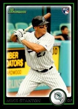 2010 Bowman Draft Picks Baseball #BDP30 Giancarlo (Mike) Stanton Rookie Card 2010 Bowman Baseball