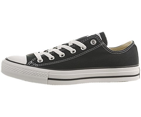Converse Chuck Taylor All Star Low – Black,Size 9.5 US