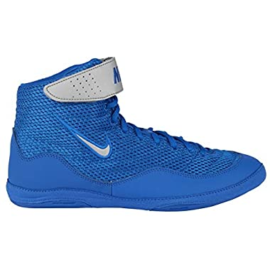 huge discount 4a033 374ed Nike Men s Inflict 3 Wrestling Shoes(White Blue,10.5,D (M