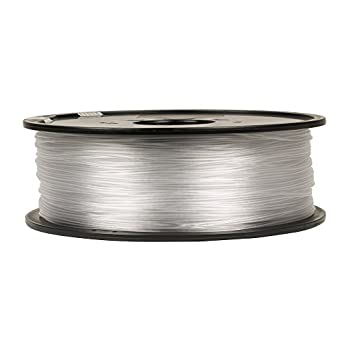 Inland 1.75mm Natural PETG 3D Printer Filament - 1kg Spool (2.2 Lbs)