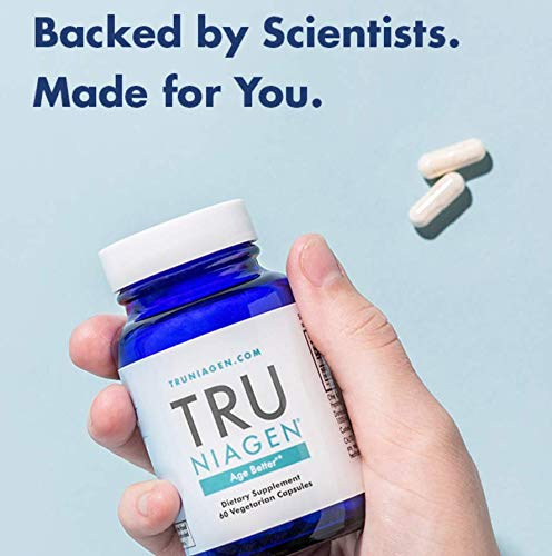 TRU NIAGEN® (Nicotinamide Riboside) | Increased 300 mg/Serving (2 Vegan Capsules) | Advanced NAD+ Booster for Next-Level Cellular Repair & Increased Energy | Vitamin B3 (NR) by TRU NIAGEN (Image #8)
