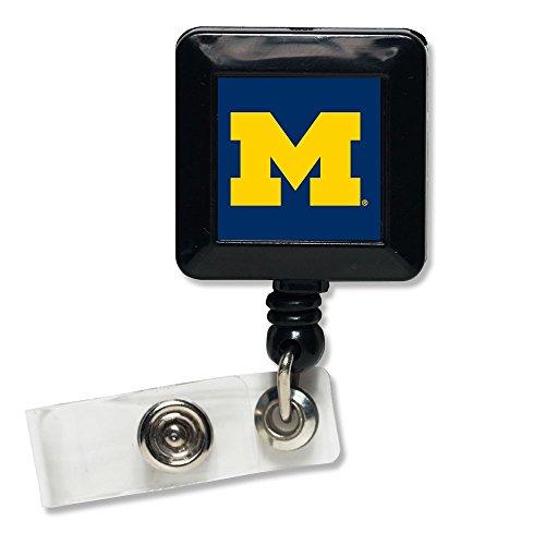Michigan Wolverines Official NCAA 1 inch x 1 inch Retractabl