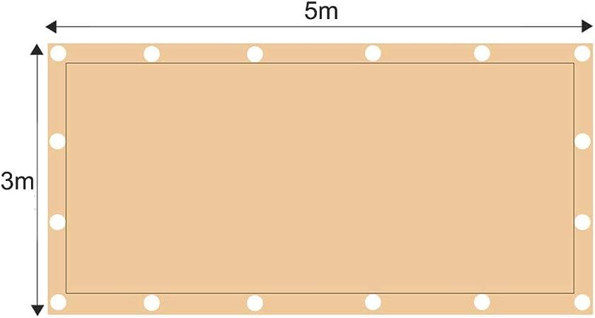 ZJDU Vela da Sole Vele Tettoia Rettangolare Sabbia Schermo Vela UV Blocco per Esterno Giardino Patio Struttura E attivit/à,1x1m