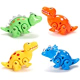 Press & Go Dinosaurs - Novelty Toys & Spin Tops & Wind-Ups