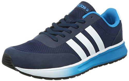 sale retailer 1f8c5 f542c adidas Neo V RACER TM II Zapatillas Sneakers Azul para Hombre