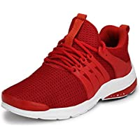 Shoe Fab Men Supersoft Red Running Sports Shoes ouchwood Mens Shark Sports Shoes for Running/Jogging