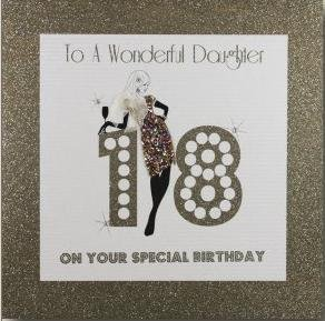 Five Dollar Shake 18th Birthday Card To A Wonderful Daughter On