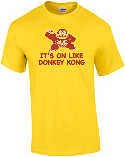 It's On Like Donkey Kong T-Shirt - Yellow Donkey T-shirt