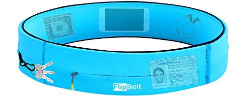 FlipBelt Running & Fitness Workout Belt, Aqua, Small by Level Terrain (Image #2)