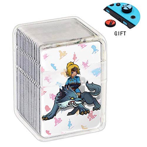 Botw NFC Tag Game Cards for the Legend of Zelda Breath of the Wild Compatible with Switch/Wii U – 24pcs Mini Cards with…