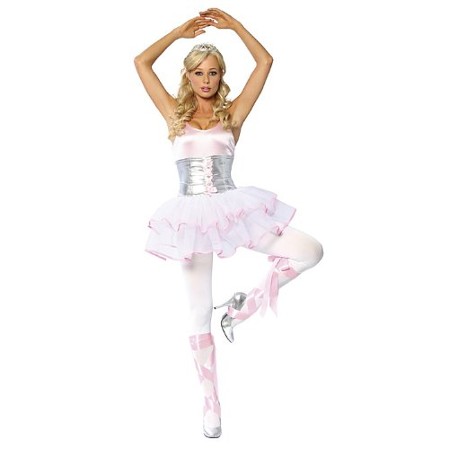 Ballerina Sexy Adult Womens Halloween Costume Size M/l  sc 1 st  Amazon.com : ballet halloween costumes  - Germanpascual.Com