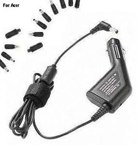100W(1-90 vatios) NUEVO Adaptador de corriente - CA / coche /Universal cargador de coche - 12V encendedores estándar de cigarrillos alimentación para portátil netbook / notebook / tablet modelo: E-MACHINES, ACER / Packard Bell [Acer Acernote, Acernote Light, Acernote Pro, Anywhere, Aspire, Aspire One, Chromebook, Emachines, Extensa, Ferrari, Iconia Tab, Mini One, Packard Bell, Timeline Travelmate] CARACER20