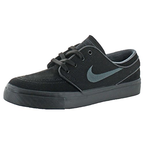 NIKE Mens SB Zoom Stefan Janoski Zoom Air Skateboarding Shoes Black 5 Medium (D)