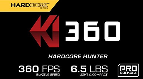 KI 360 HardCore Edition - High Performance Crossbow - Includes KI LUMIX Scope, 3 Bolts, Quiver, and Deadening String Suppressors by Killer Instinct (Image #2)