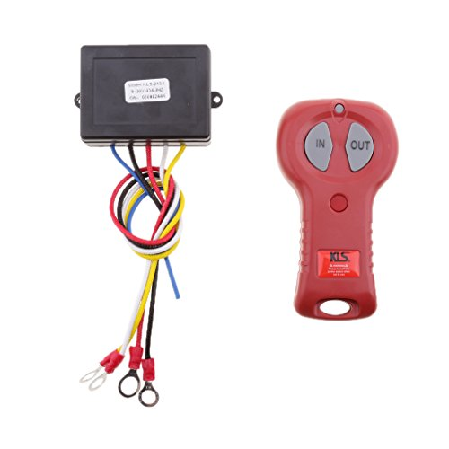 Baoblaze Auto Replacement 24V Wireless Winch Remote Control Kit for Car Vehicles KLS-213X