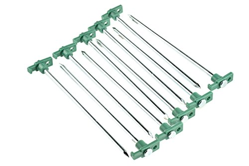 SE-9NRC10-Galvanized-Non-Rust-Tent-Peg-Stakes-with-Green-Stopper