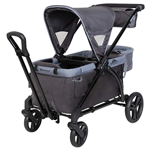 Baby Trend Expedition Stroller Wagon Plus, Ultra Grey
