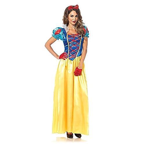 Leg Avenue Womenu0027s 2 Piece Classic Snow White Costume Multi Large · Disney  sc 1 st  Amazon.com & Womenu0027s Disney Costumes: Amazon.com