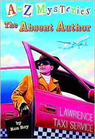 The Absent Author (A to Z Mysteries Series #1) by Ron Roy, John Steven Gurney (Illustrator)