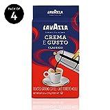 Lavazza Crema e Gusto Ground Coffee Blend, Espresso Dark Roast, 8.8-Ounce Bags (Pack of 4).: more info