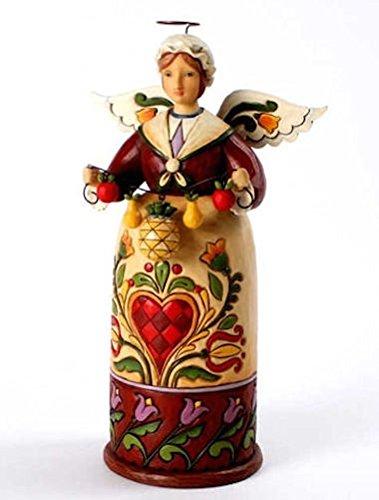Jim Shore Warm Welcome Williamsburg Christmas Angel Figurine (Shore Jim Colonial)