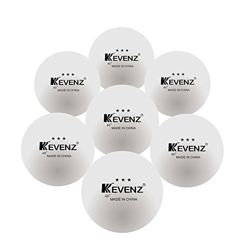 Review KEVENZ 50-Pack 3-Star 40mm