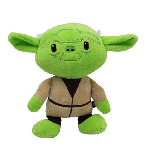 Star Wars Plush Yoda Figure Dog Toy | Soft Star Wars Squeaky Dog Toy | Medium