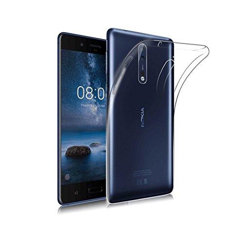 Lofad Case transparent back cover for Nokia 8