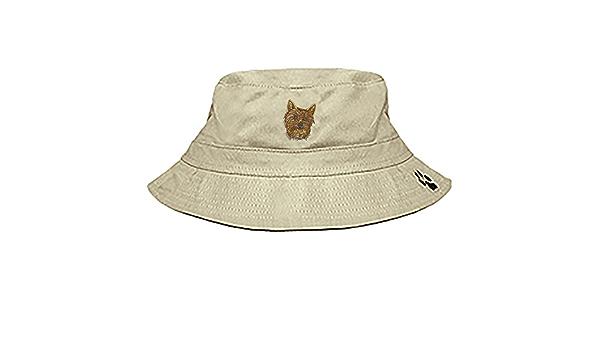 YourBreed Clothing Company Cairn Terrier Bucket Cap Khaki
