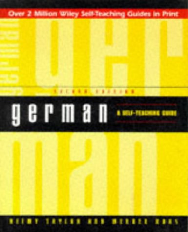 German: A Self-Teaching Guide (Wiley Self Teaching Guides)