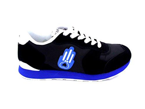 Modello SNEAKER'S Sneaker Original Uomo KAMSA A2 Ibiza Nero 42 Colore Scarpe qwUXPna