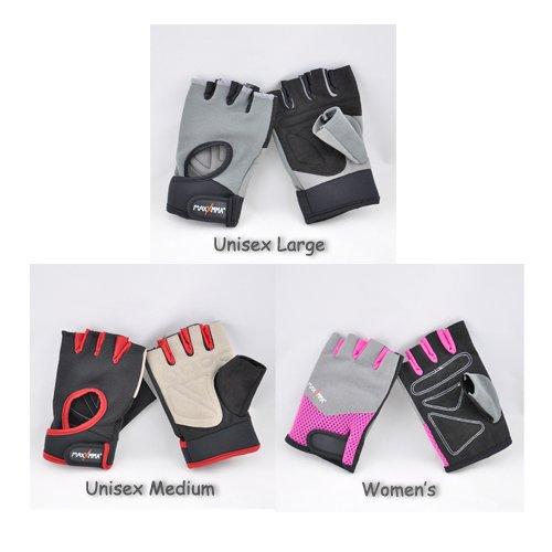 MaxxMMA Gym Weight Lifting Gloves