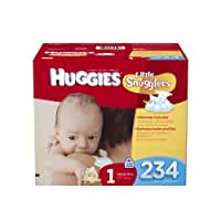 Huggies\x20Little\x20Snugglers\x20Diapers\x20Economy\x20Plus,\x20Size\x201,\x20234\x20Count