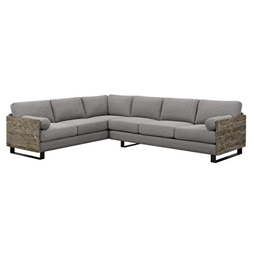 Cheap Artum Hill UP8-675 Sectional, Slate Gray